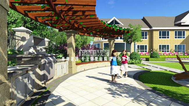 碧水庄园3416庭院设计-设计作品-北京庭院设计