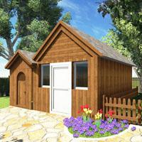 碧水庄园2910别墅庭院设计
