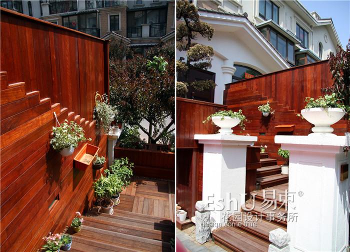 珠江帝景日式花园建造-施工作品-eshu易束景观|庭院
