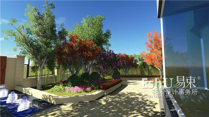 东山墅别墅庭院设计-设计作品-北京庭院设计公司_庭院