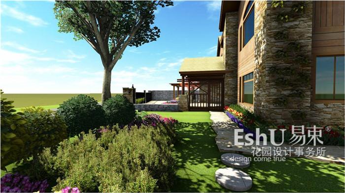 设计作品-北京庭院设计_别墅庭院设计_庭院设计公司