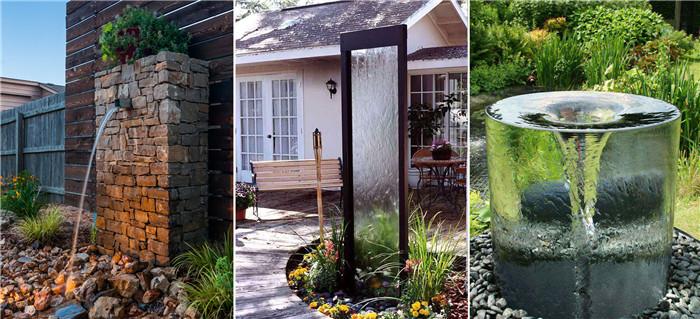 庭院水系-庭院系统-eshu易束景观|庭院设计|别墅庭院