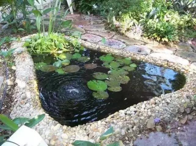 景观cad水系_景观水系_欧州庭院水系景观图片