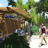 枫丹壹号院庭院设计