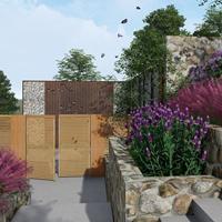 平谷民宿花园设计