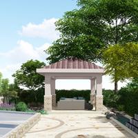 东方普罗旺斯庭院设计